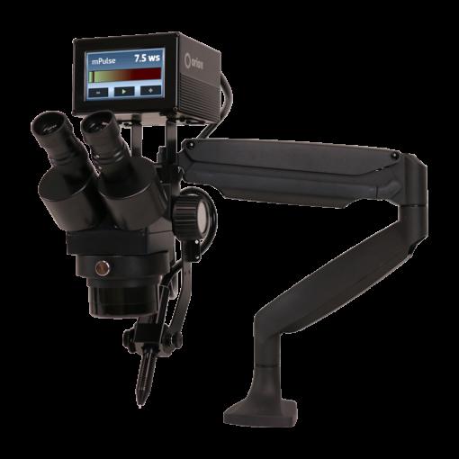 美国Sunstone 脉冲电弧/微型TIG焊机-mPulse Plus Mounted ,安装在显微镜臂上的最小的脉冲弧焊机