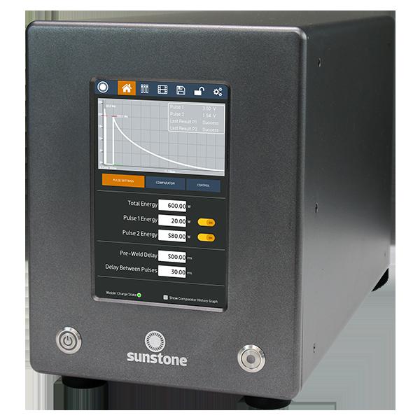 美国Sunstone 微电阻焊接系统 / CD焊机  CDDP-A –精细点焊机,双脉冲CD焊机的应用包括焊接监控,SPC工具和大型电容式触摸屏界面